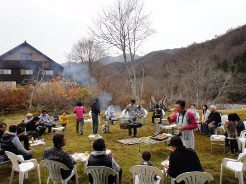 奥只見山荘納会2011