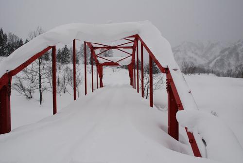銀山平の蛇子沢橋