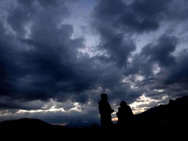 枝折峠の雲海【滝雲】